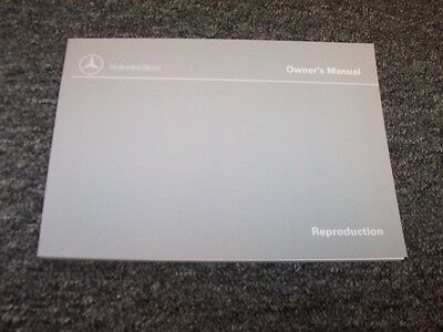 1998 Mercedes Benz SL500 & SL600 Owner Owner's Operator Manual 5.0L 6.0L V8 V12