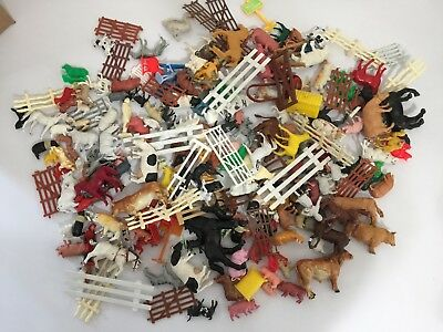Farm Animals Big Lot Plastic Horses, Cows, Pigs & More!  Britains, Funrise +More