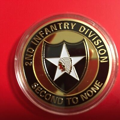 2Nd Infantry Division Sealed Challenge Coin