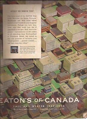 Eaton's of Canada Fall and Winter 1955/56 Catalog in EX condition 656 pages