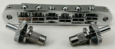Gibson Chrome 6 String LOCKING Bridge w/ Posts HW94
