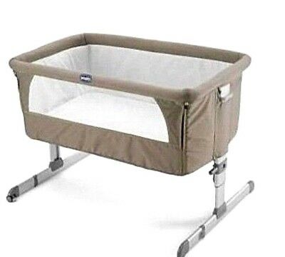 CHICCO Next 2 Me Bed Side Baby Crib Travel Cot Natural