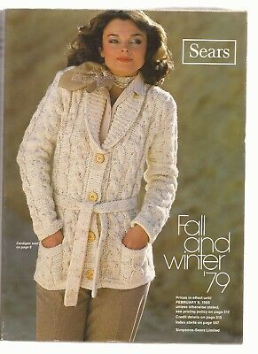 Sears Fall and WInter 1979 Catalog in EX condition 976 pages
