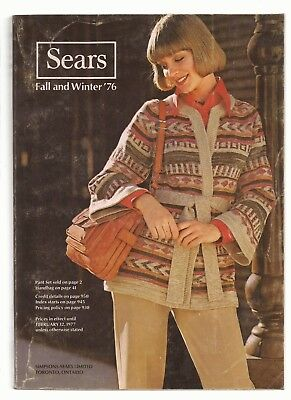 Sears Fall and WInter 1976 Catalog in EX condition 952 pages