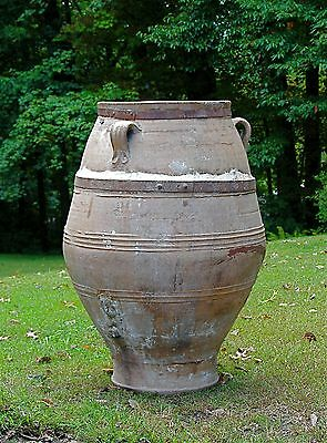Mid 19th century Large Terra Cotta Olive Jarre (jar)