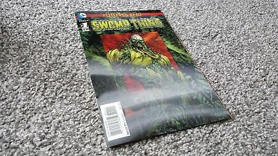 Swamp Thing: Futures End #1 3D Motion Variant (2014) Dc New 52!