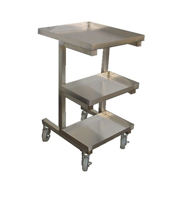 """Stainless Steel Sauce Cart For Chinese Wok Range 19 1/2"""" x 22 1/2"""""""