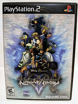 Kingdom Hearts II 2 -PS2- Replacement CASE *NO GAME*