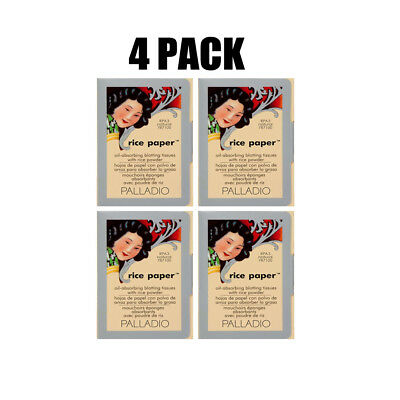 Palladio Rice Paper Natural Oil-absorbing Blotting tissues 4 Pack