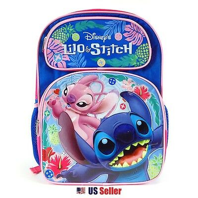 DISNEY LILO AND Stitch School Backpack 16