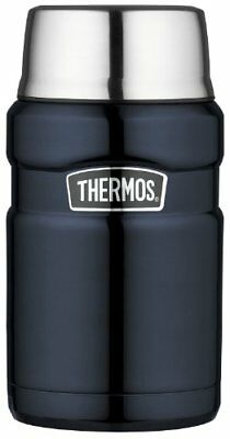 Thermos Thermos Stainless King Midnight Blue food jar 0.7L warmth preeminen