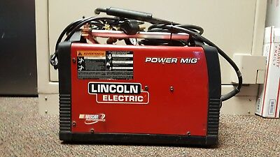 LINCOLN ELECTRIC 180 Dual Power Mig Welder