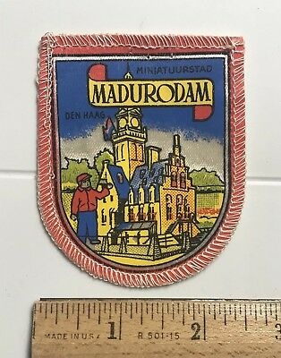 MADURODAM Miniatuurstad Holland The Netherlands Miniature Park Patch Badge