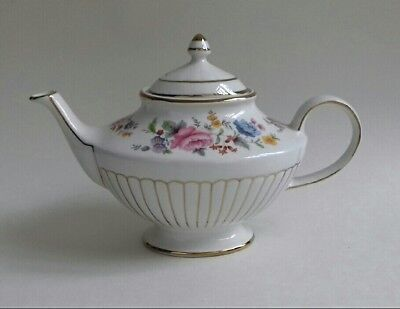 Vintage Arthur Wood & Son Teapot - Floral Gilded Country Flowers 6070