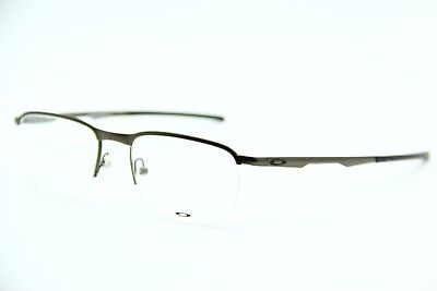 New Oakley Ox3187-0251 Pewter Conductor 0.5 Eyeglasses Authentic Frame Rx 51-18