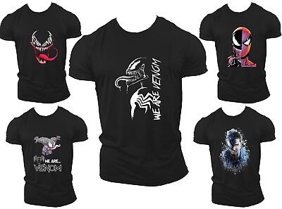 Venom T Shirt For Kids Adults Unisex With Various Colours Available