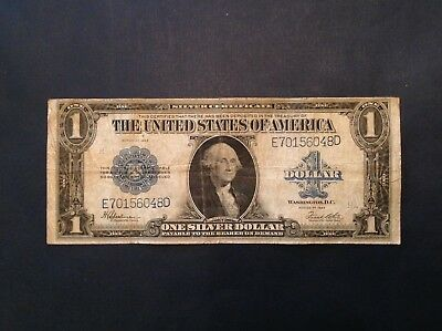 -1923 $1 One Dollar Large Size Silver Certificate  Fr 237