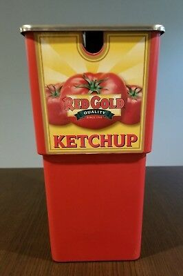 Red Gold Ketchup Server Express System 1.5 Gallon Pouch Dispenser Never Used