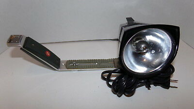 Vintage Smith Victor Model Q10 Light with Gold Crest Bracket SHIPS FREE!