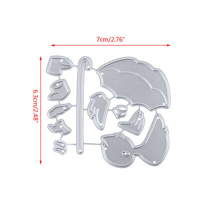 Duck Metal DIY Cutting Dies Stencil Scrapbooking Embossing Paper Card Home Decor