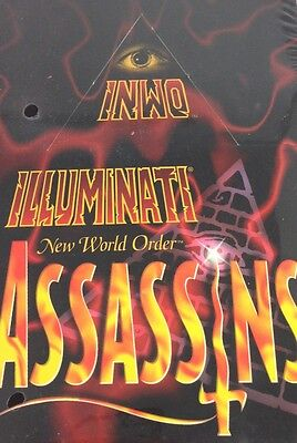 Limited UNCOMMON 33 Cartes INWO Illuminati Assassins SJG