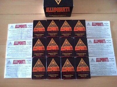 INWO Illuminati New World Order Unlimited Starter Set Complet Steve Jackson 1995