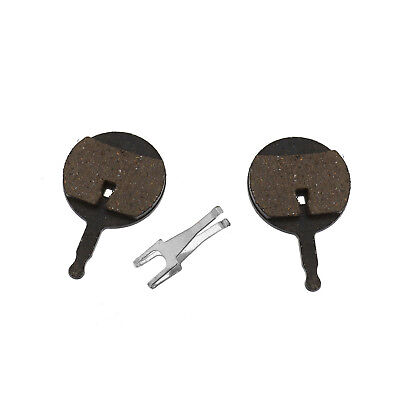 Pair of 24mm Bike Resin Disc Brake Pads For Cycling Avid Bicycle Replacement