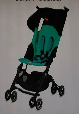 Gb Pocket Plus Stroller Lightweight Laguna Blue New In Box Free Shipping