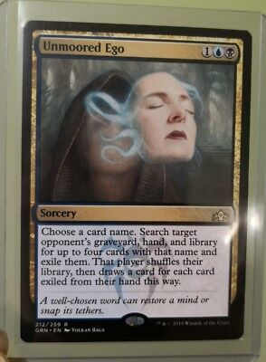 1x Unmoored Ego - Guilds of Ravnica NM English Magic the Gathering