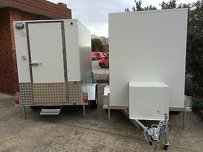 . 8 x 5 Foot Mobile Trailer - Brand New - Portable Walk In Cool Room