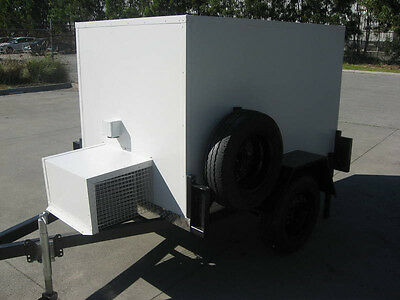 . 6 x 4 Low Profile Mobile Trailer - Portable Cool Room for Functions / Caterers