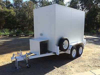 . 9 X 5 Foot - Mobile Trailer - Portable - Cool Room - for Functions / Caterers