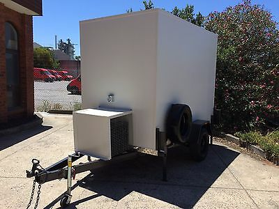 > 9 X 5 Foot Mobile Trailer - Single Axle Cool Room