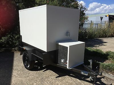 . 6 x 4 Mobile Trailer - Low Profile - Portable Cool Room - Caterers / Seafood