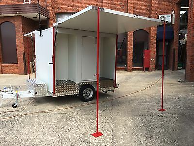 > Mobile Trailer - Portable ATM Vending Machine - booth / kiosk / stand