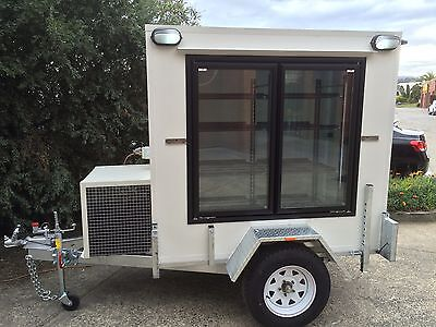 . 6 x 4 Foot - Mobile Trailer - Brand New - Portable Walk In Cool Room