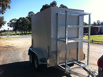 . 9 x 5 Ft Mobile Trailer - Walk in Portable - Cool Room - functions / caterers