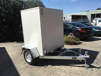 . Mobile Trailer - Portable ATM - Vending Machine for up to 2 x ATM terminals