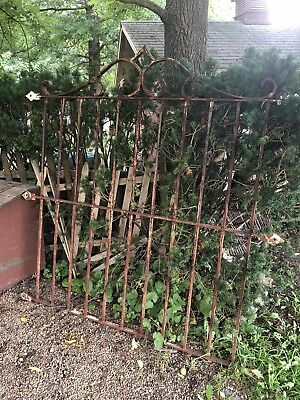 Antique Wrought Iron Gate from an estate in Akron OH