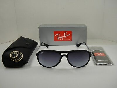 512b53aa21 Ray-Ban Alex Sunglasses Rb4201 622 8G Black Frame grey Gradient Lens 59Mm