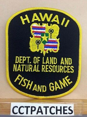 Dept Of Land And Natural Resources, Hawaii Fish And Game (Police) Shoulder Patch