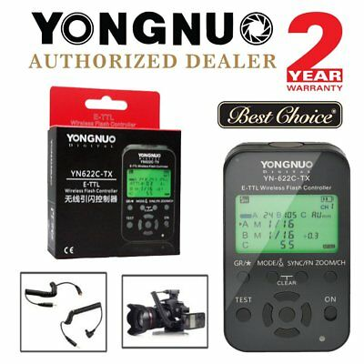 Yongnuo YN-622C-TX LCD E-TTL Wireless Flash Transmitter Controller for Canon US