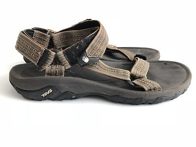 e5095e9593df TEVA 6461 HURRICANE II Men Sandals Black Gray Sport Strappy Hiking Shoes  Size 11 -  23.50