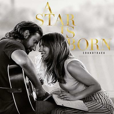A Star is Born Soundtrack: Lady Gaga, Bradley Cooper (Vinyl, 2018, 2-LP Set) New