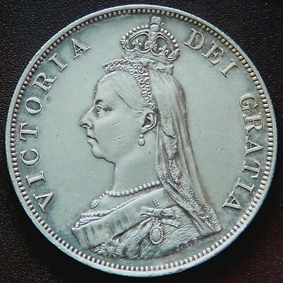 Great Britain Victoria 1889 Double Florin   #336005