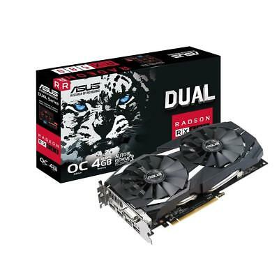 Asus Radeon Dual RX 580 OC Edition 1380MHz 4GB GDDR5 Gaming Graphics Video Card