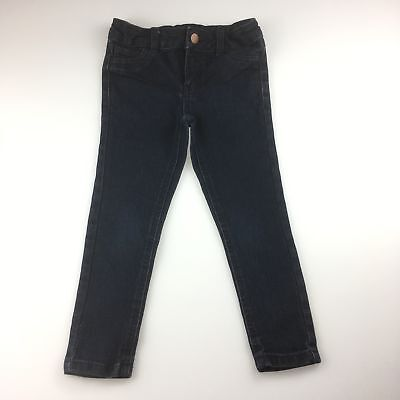 Girls / Boys size 4, Target, navy jeans, adjustable waist, GUC