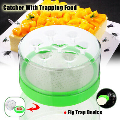 Flycatcher Fly Trap Device Fly Insect Pest Control Catcher With Trapping Food