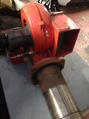 Diesel/oil Burner from Blow Heater