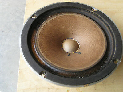 """Vintage Sansui Woofer/Driver, 8 Inch, 8 Ohm """"New Old Stock"""" Working/Tested"""